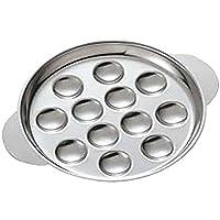 国産 食器 皿 エスカルゴ (12穴用) φ183mm