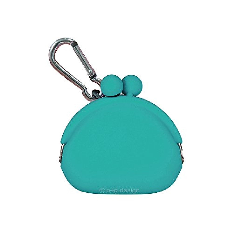 (ピージーデザイン) p+g design シリコン がまぐち ポチビ POCHIBI-Turquoise【0368】