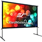 Elite Screens Yardmaster 2 Dual, 100-inch 16:9, Front/Rear 4K Ultra HD Ready Indoor/Outdoor Projector Screen OMS100H2-Dual
