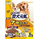 ユニ・チャーム(株) 愛犬元気 7歳以上用 歯・骨の健康維持 ビーフ 6.0kg