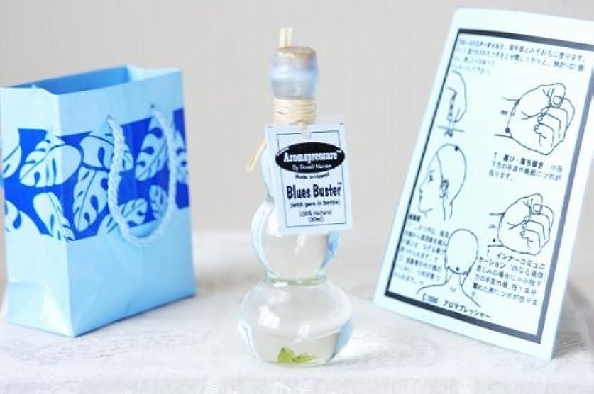 アロマプレッシャー エナジーブースター スピリチュアルオイル(パワーストーン入り)ブルースバスター