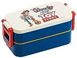 2段 ランチボックス 600ml 弁当箱 フォルクス トイストーリー ディズニー YZW3