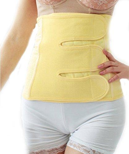 LINGZHI 帝王切開用 産後骨盤固定ベルト 100%綿 (サイズ:L 適用ウエスト:70-84.5cm)