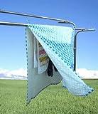 洗濯物干用カバーシート マジカルカバー ブルー
