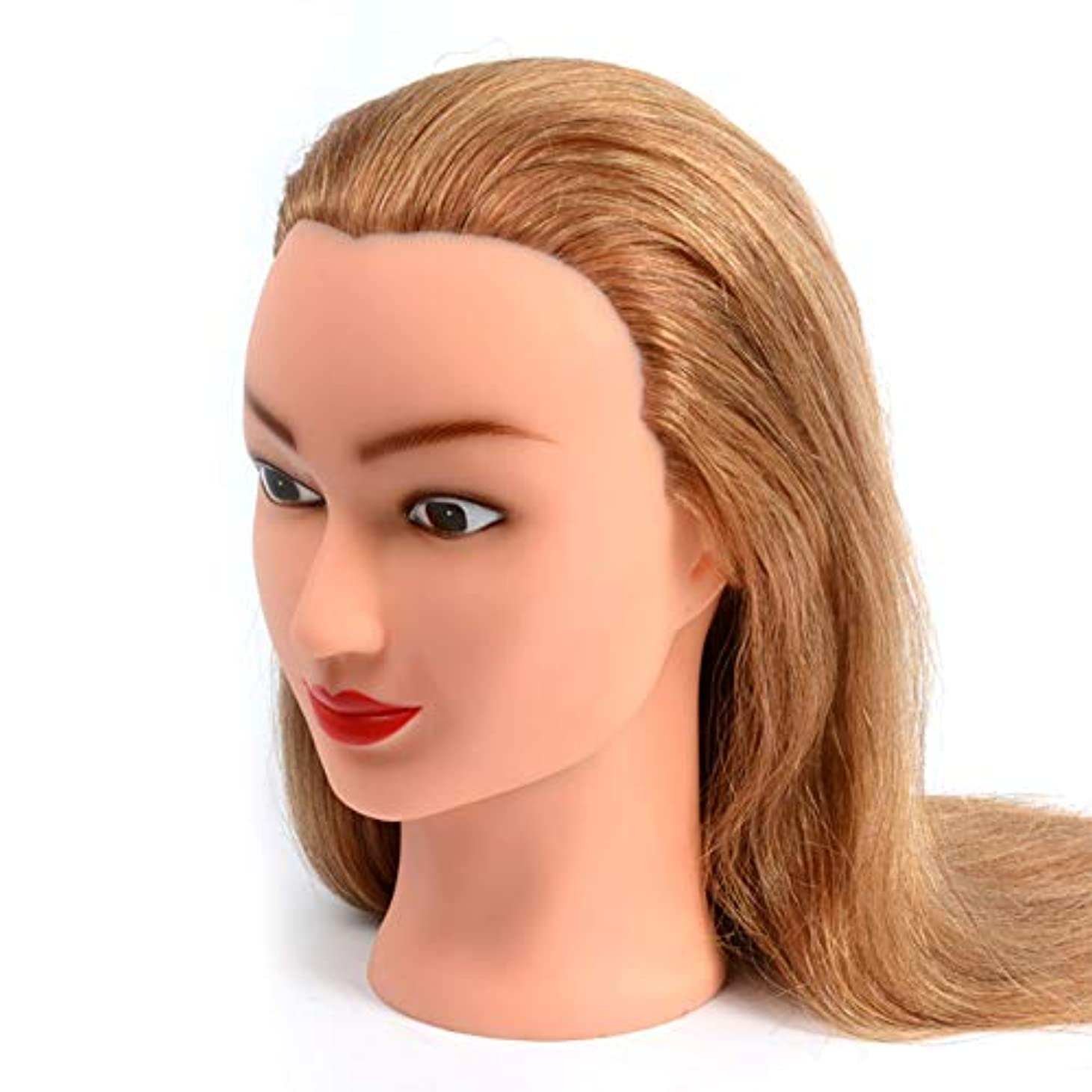 攻撃カフェラウンジブライダルメイクスタイリング練習モデル美容院散髪学習ダミーヘッドは染色することができますし、漂白ティーチングヘッド