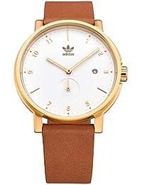 Adidas Watches (アディダス ウォッチ) 防水 アナログ ウォッチ (日本正規商品) [ Z12-2548/District_LX2 ] 腕時計 日本製ムーブメント レザーベルト 2548_Gold / Cream/Tan