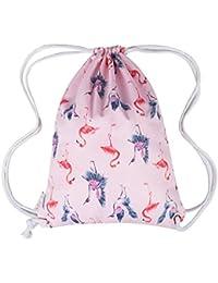 Micv ナップサック プールバッグ ジムサック 防水仕様 巾着袋 軽量 スポーツバッグ 通学・運動・旅行に最適 アウトドア 収納バッグ