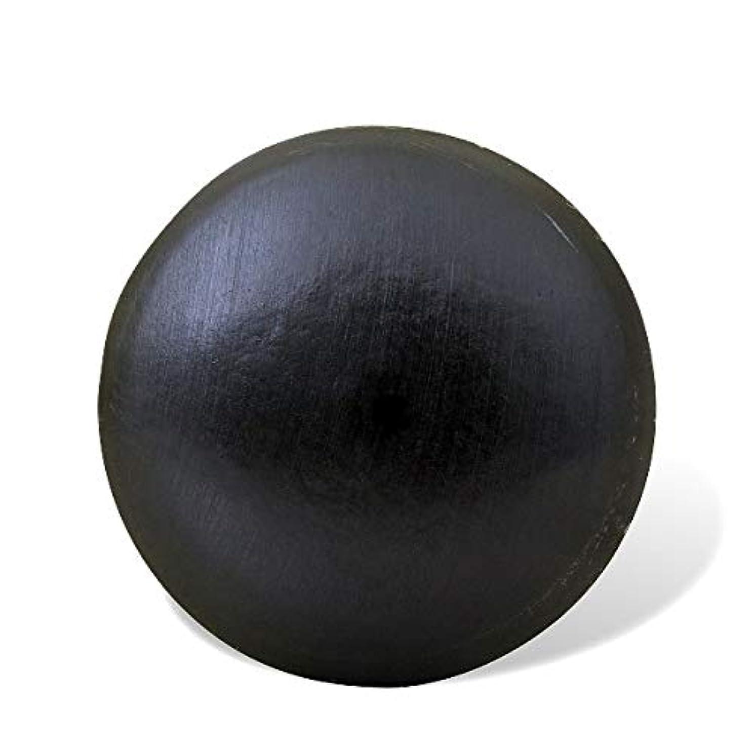ファイナンスタッチ円形の井上誠耕園 釜焚きオリーブ石鹸(洗顔用) 100g×3個セット