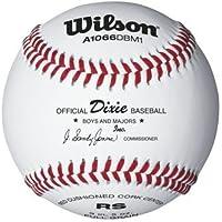 Dixie Boy 's and Majors Baseballsからウィルソン – ケースof 10ダース