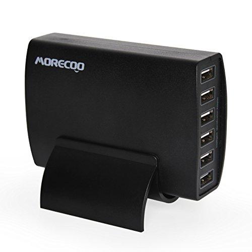 USB充電器 MORECOO 60W AC充電器(Quick...