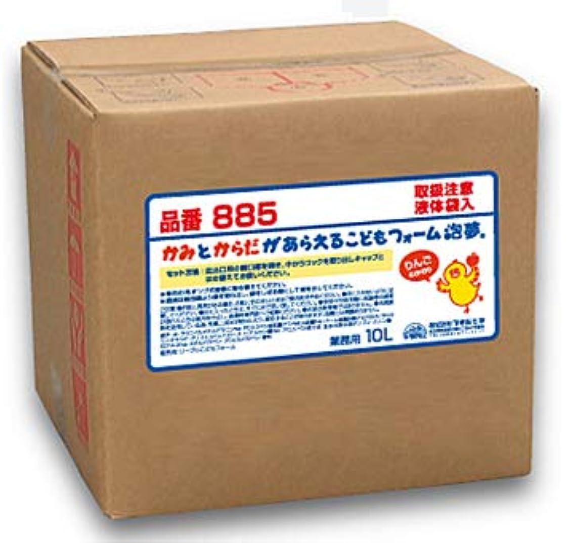 珍しい夏の中でフタバ化学 こどもフォーム 泡タイプ 泡夢 10L 詰替え 350ml容器付