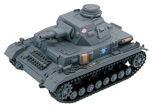 ぺあどっと ガールズ&パンツァー 4号戦車D型 エンディングVer. ノンスケール 全長約90mm 半塗装済みプラモデル PD68