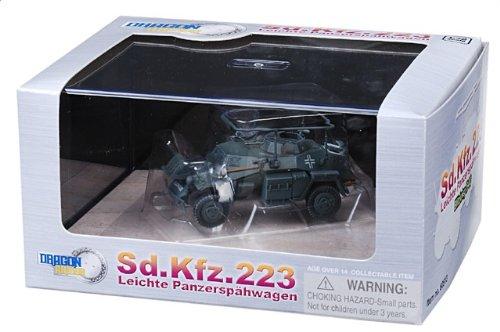 1:72 ドラゴンモデルズ アーマー コレクター シリーズ 60513 Auto Union Sd.Kfz.223 装甲車spahwagen ディスプレイ モデル ドイツ軍 Poland Blitzk