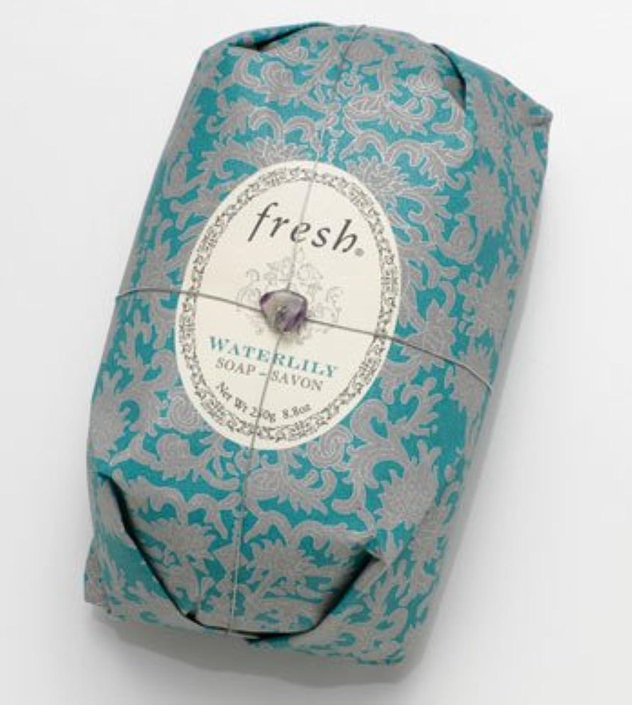 見落とすネット実験的Fresh WATERLILY SOAP (フレッシュ ウオーターリリー ソープ) 8.8 oz (250g) Soap (石鹸) by Fresh