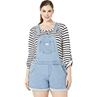 Levi's Women's Plus Size Shortalls