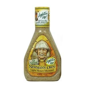ニューマンズ オールナチュラル・ドレッシング Newman's Own (ライト・ハニーマスタード 473ml)
