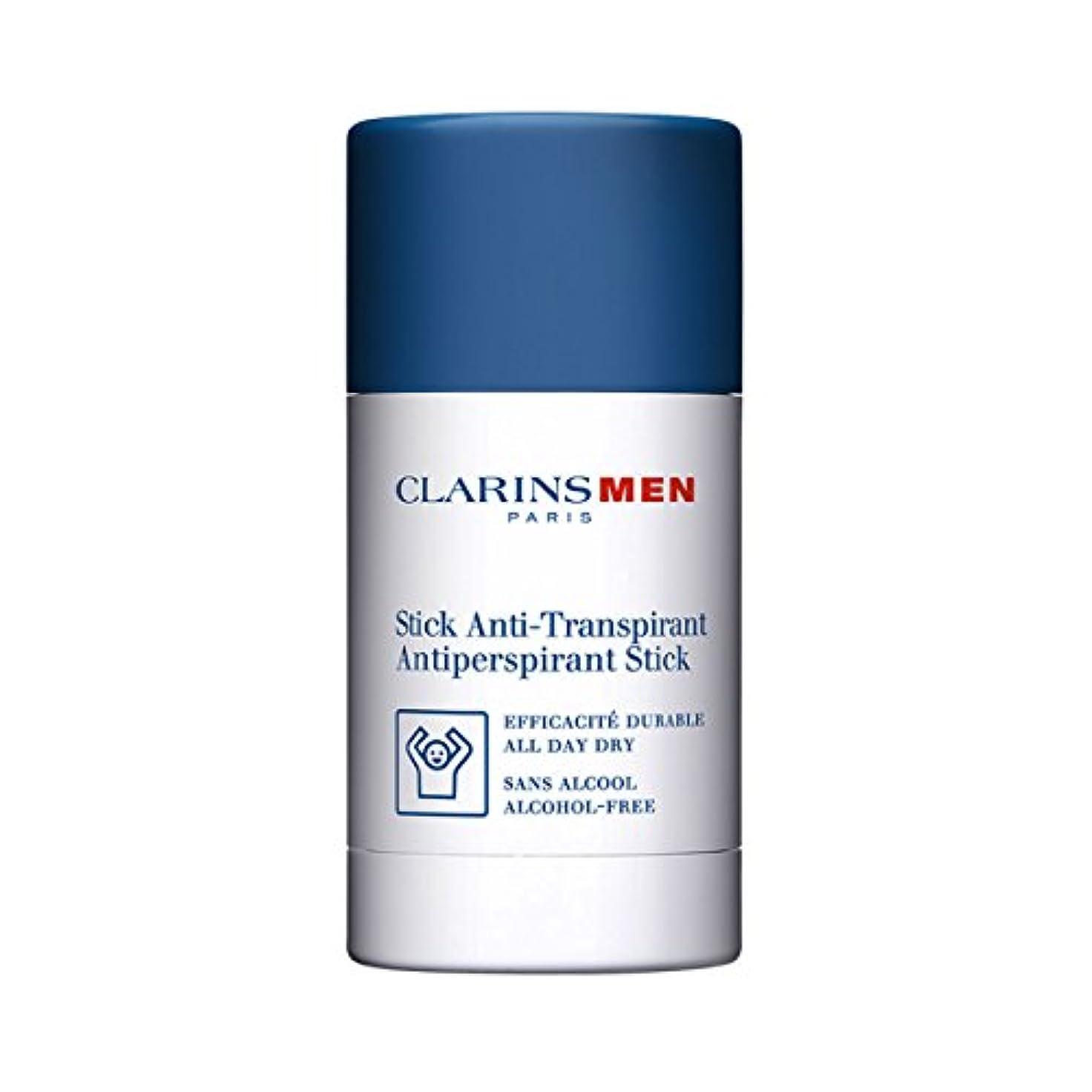 ラケット適切に課税Clarins Men Antiperspirant Stick 75gr [並行輸入品]