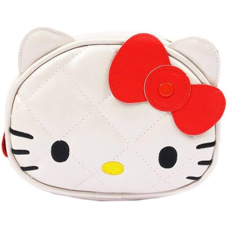 キティ 丸ポーチ ホワイト