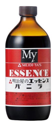 明治屋 エッセンス バニラ 瓶 500ml