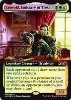 英語版フォイル アルティメットマスターズ ボックストッパー Ultimate Masters Box Topper UMA トレストの使者、レオヴォルド Leovold, Emissary of Trest マジック・ザ・ギャザリング mtg