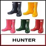 (ハンター) HUNTER ブーツ BOOTS KIDS FIRST CLASSIC WELLY HUW24133 オリジナル キッズ ファースト レインブーツ 長靴 UK11(17.0cm) Fuchsia(フクシア)