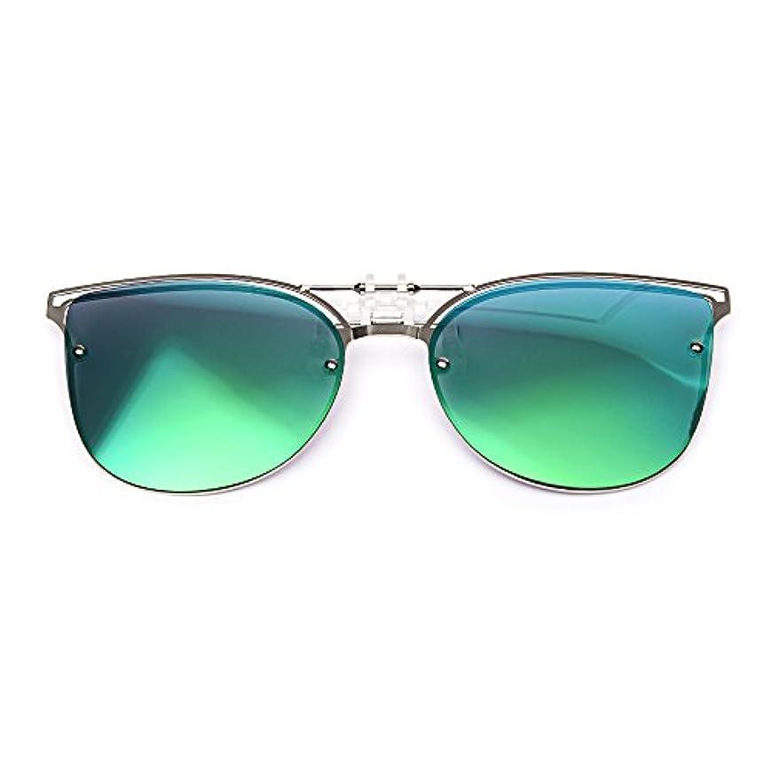緯度世紀ビール女性用リップサングラス ハネ上げ式偏光レンズ昼夜兼用超軽量 アウトドア旅行用4カラー