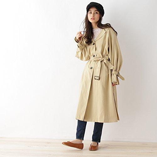 (オゾック) OZOC 袖デザイントレンチコート 16294003