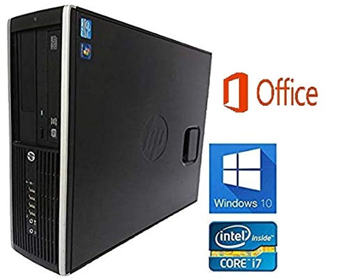 導出忌避剤トラフィック【Microsoft Office 2016搭載】【Windows10搭載】 HP Compaq Elite 8300 SFF/第三世代Core i7 3770@ 3.4GHz/大容量メモリー 16GB/新品SSD512GB/DVDマルチ/中古デスクトップパソコン