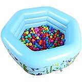 赤ちゃん子供プール多層インフレータブルバスタブガーデン屋外スイミングプールプールパドリングプール(3層(130 * 130 * 50 Cm)