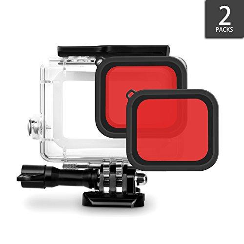 アイトランク iTrunk GoPro Hero 6 Hero 5 レッドフィルター 色を補正する 高品質画像 スポーツカメラ対応 水中撮影可能 アクセサリー