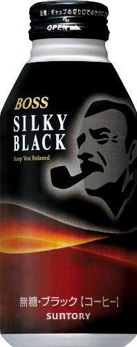 『サントリー コーヒー ボス シルキーブラック 400g×24本』のトップ画像