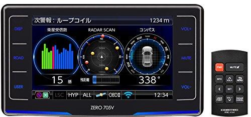 コムテック レーダー探知機 ZERO 705V 無料データ更新...
