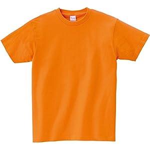 [プリントスター] 半袖 キッズ 5.6oz ヘビーウェイトTシャツ 00085-CVT_K コーラルオレンジ 100cm (日本サイズ100相当)
