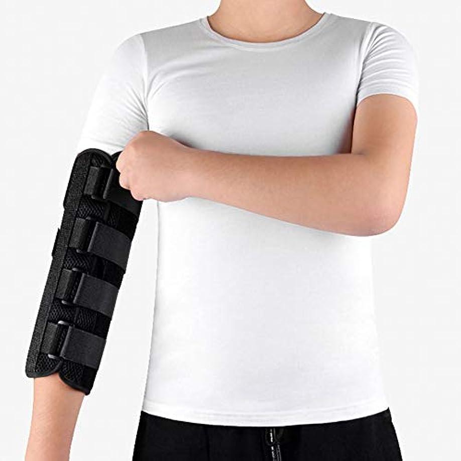 スポーツ満足悪魔肘固定装具、上肢肘関節装具、痛みの軽減、けがを回復するための夜間保護,M