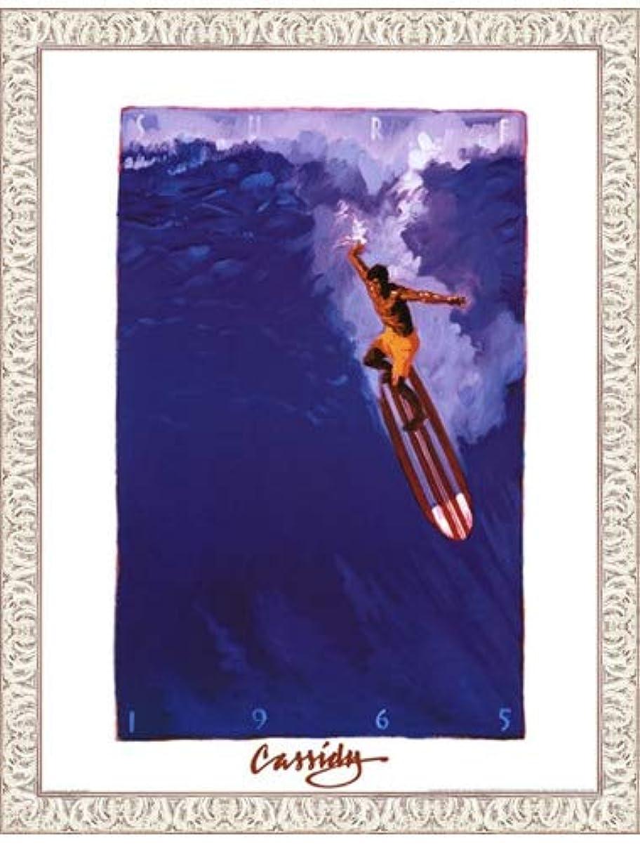 新着サリーマラウイSurf 65 by Michael Cassidy – 18 x 24インチ – アートプリントポスター 18  x 24  Inch LE_71074-F9711-18x24