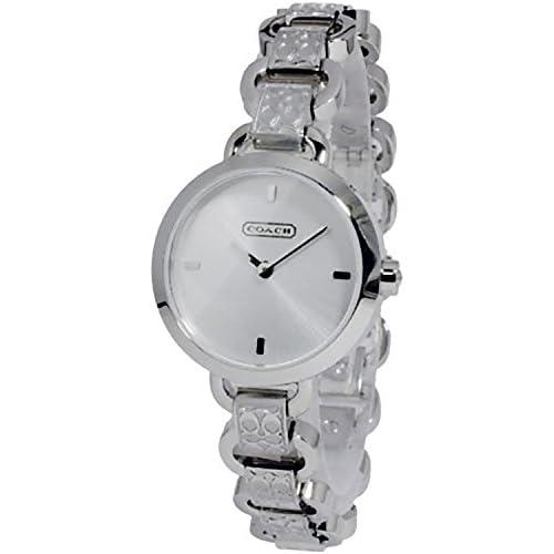 (コーチ) COACH コーチ 時計 レディース COACH 14501845 LEXINGTON MINI レキシントンミニ 腕時計 ウォッチ シルバー[並行輸入品]