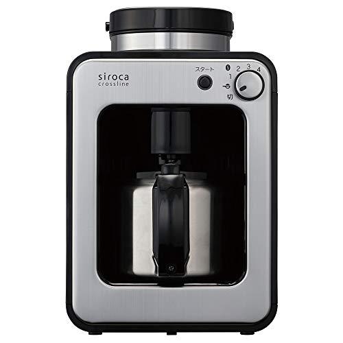 siroca 全自動コーヒーメーカー SC-A130 [ステンレスサーバー/...