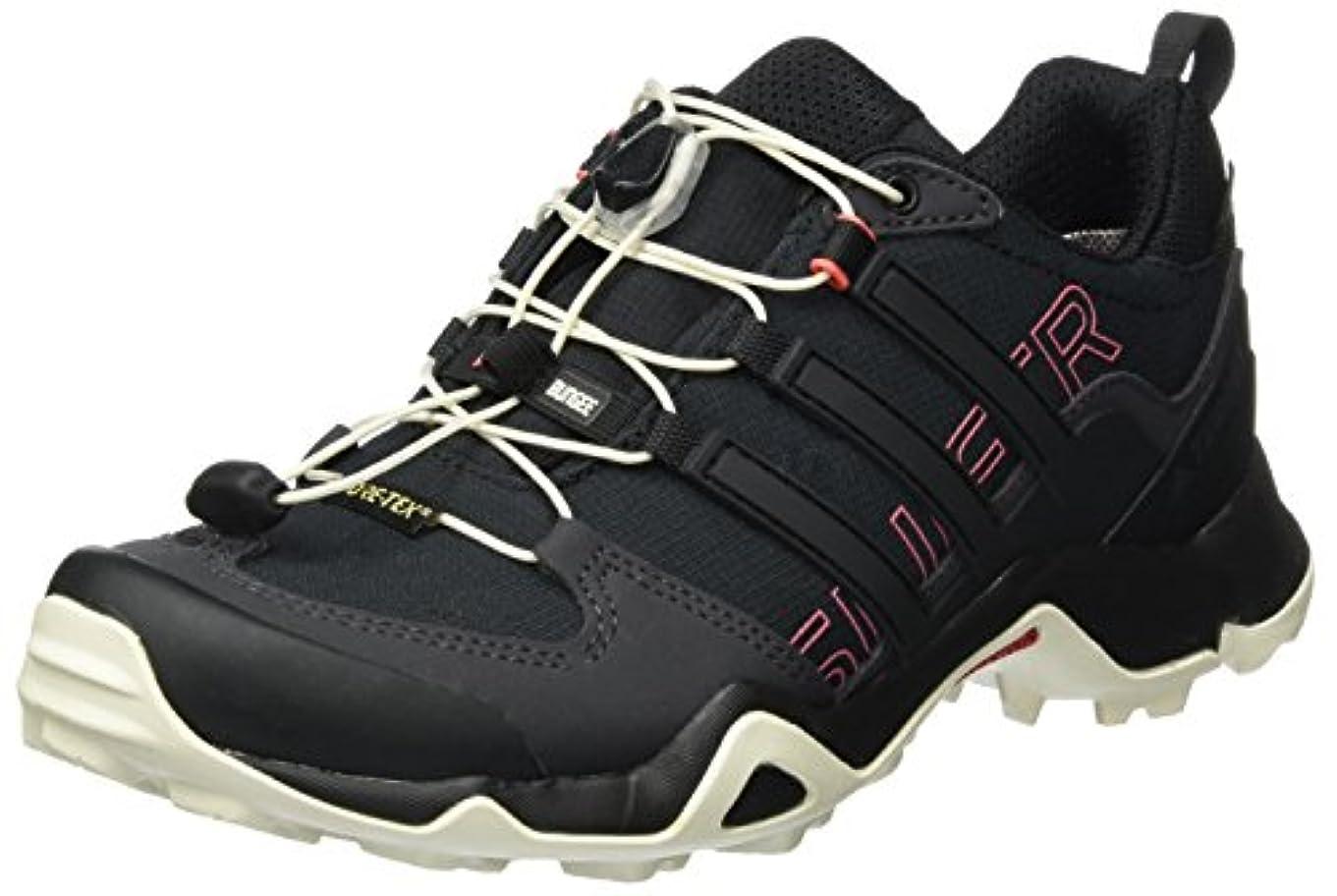 ほのめかすポーチ左[アディダス] TXSWIFT R Gore-Tex ローゴアテックス 登山靴?トレッキング 国内正規品 BB4635 コアブラック/コアブラック/タクティルピンク