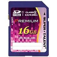 (まとめ) スーパータレント SDHCカード 16GB ST16SU1P【×5セット】