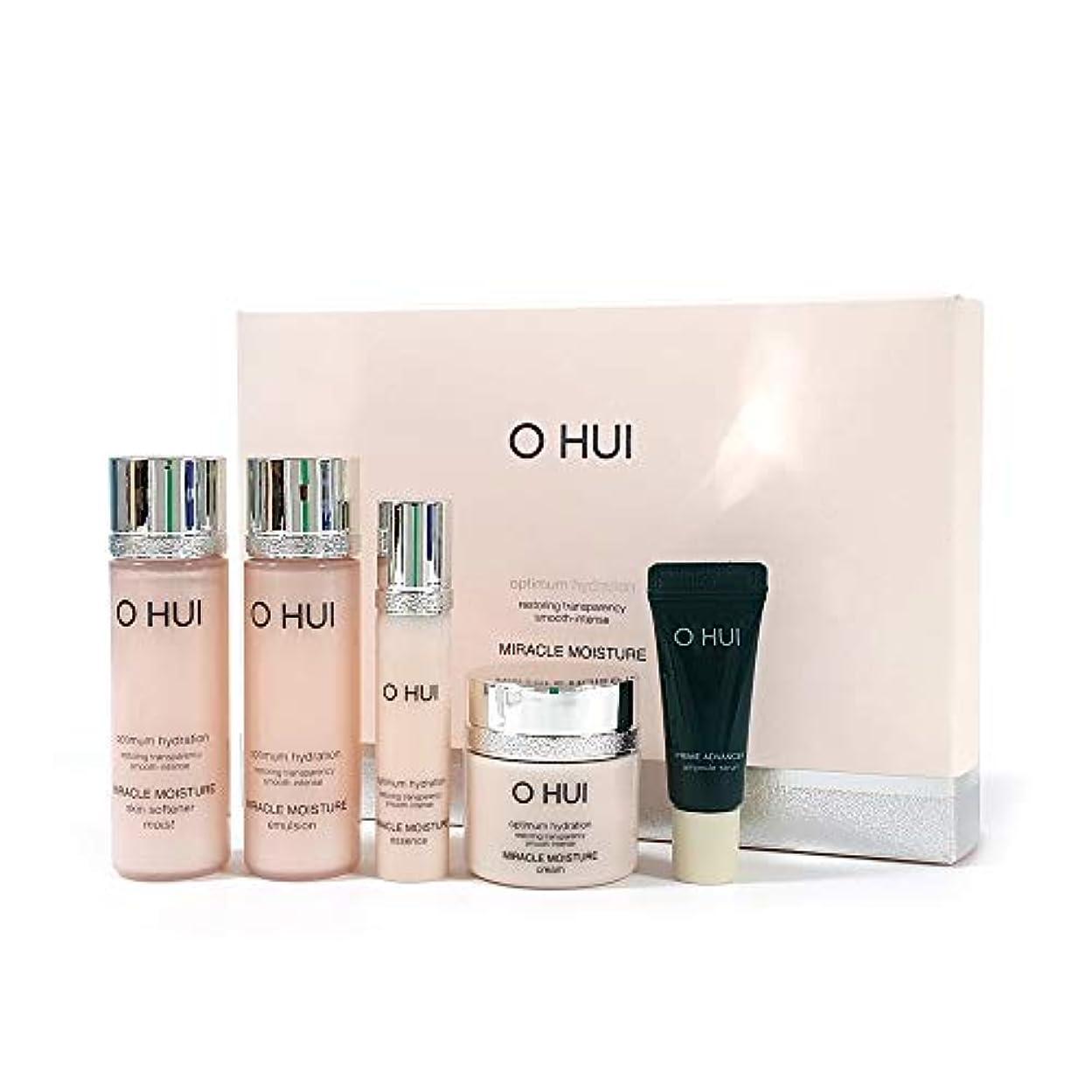秘密の破壊的な限界[O HUI] ミラクルモイスチャー スキンケア5種 スペシャルセット Korean cosmetic (miracle moisturespecial set)