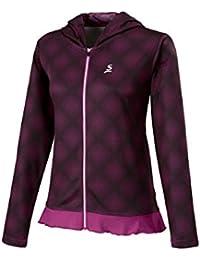 スリクソン(SRIXON) テニスウェア レディース ライトジャケット SDW-4620W ダークワイン M