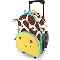Skip Hop Zoo Kid Rolling Luggage, Giraffe