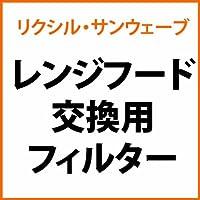 リクシル・サンウェーブ レンジフード 交換用フィルター 1枚【GF-627RH】