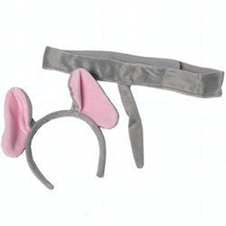 [メイキングビリーブ]Making Believe Elephant Plush Ear Headband Costume Tail Safari Dressup 03272 [並行輸入品]