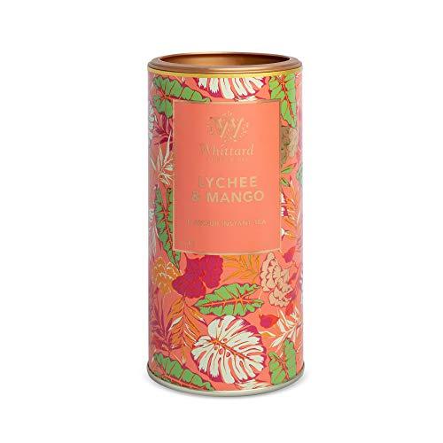 英国 Whittard (ウィッタード) インスタントティー ライチ&マンゴー 450g Lychee & Mango Flavour Instant Tea [並行輸入品]