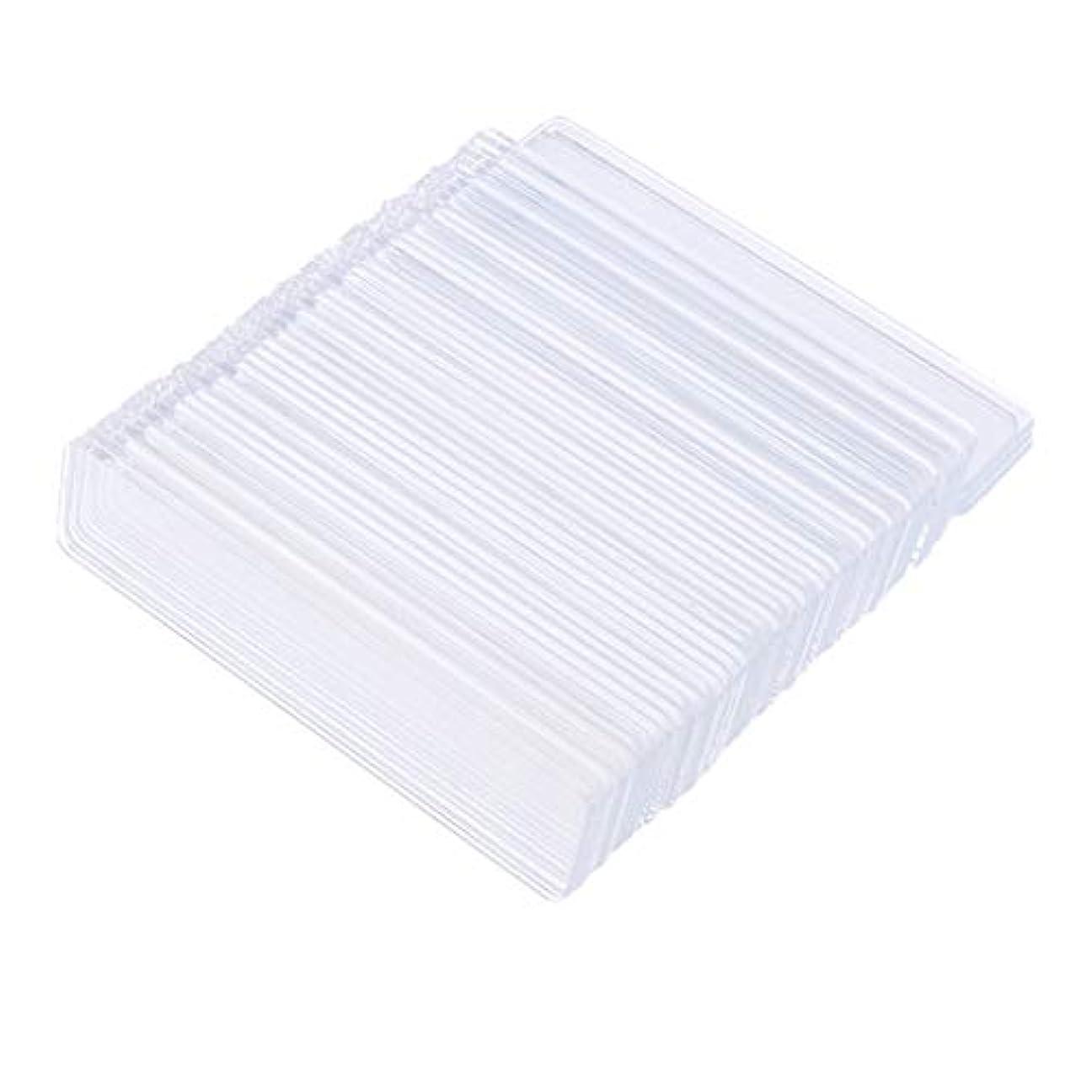 診断する縫い目図書館B Blesiya 約100個 クリア ネイルチップ スティック ラック ディスプレイ