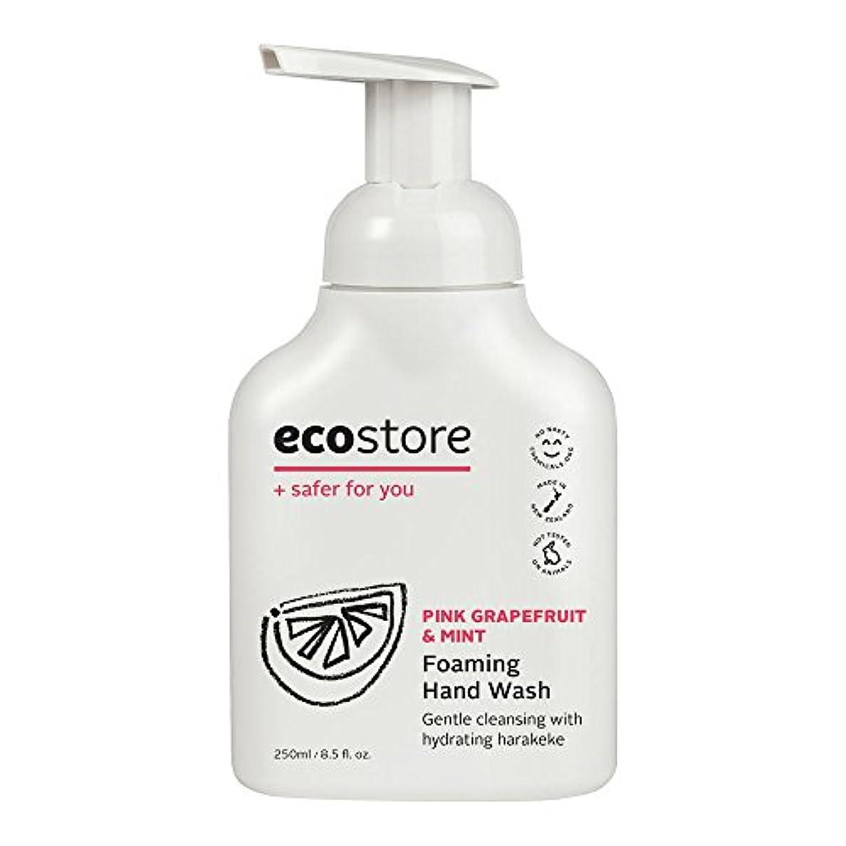 ecostore(エコストア) ハンドウォッシュ 【ピンクグレープフルーツ&ミント】 250mL 泡タイプ