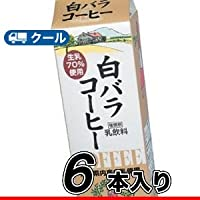 白バラ コーヒー/1000ml×6本/クール便