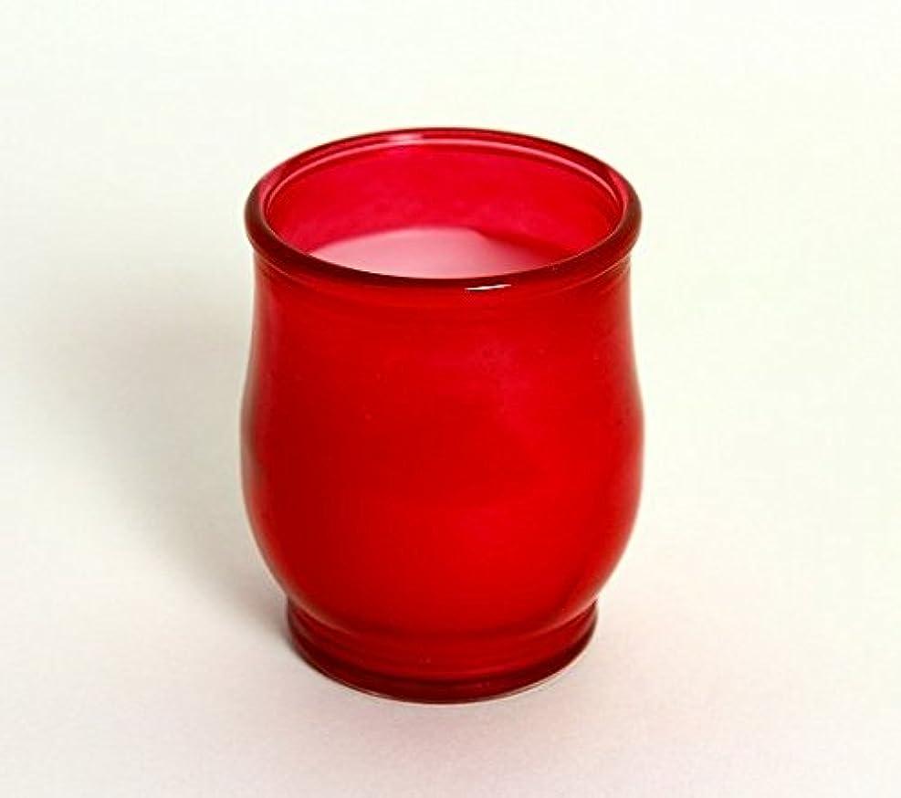 申請中葉巻亜熱帯kameyama candle(カメヤマキャンドル) ポシェ(非常用コップローソク) 「 レッド(ライトカラー) 」 (B73020030R)