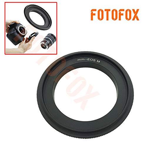 フィジェットフィジェットフィジェットリバースアダプターリング EOS M M2 EFMマウントミラーレスカメラ用